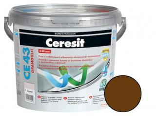 Spárovací hmota Ceresit CE 43 chocolate 5 kg CG2WA CE43558 hnědá chocolate