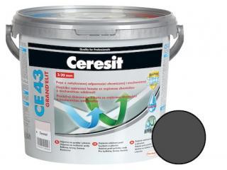 Spárovací hmota Ceresit CE 43 graphite 5 kg CG2WA CE43516 šedá graphite