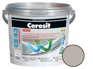 Spárovací hmota Ceresit CE 43 šedá 5 kg CG2WA CE43507 šedá šedá