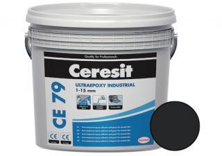 Spárovací hmota Ceresit CE 79 UltraEpoxy Industrial graphite 5 kg R2T CE79716 černá graphite