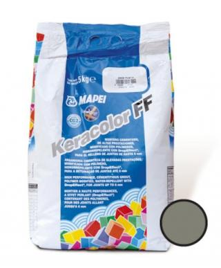 Spárovací hmota Mapei Keracolor FF cementově šedá 5 kg CG2WA KERACOL5113 šedá cementově šedá