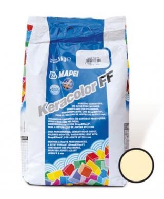 Spárovací hmota Mapei Keracolor FF vanilka 5 kg CG2WA KERACOL5131 béžová vanilka - 131