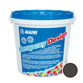 Spárovací hmota Mapei Kerapoxy Design sopečný písek 3 kg R2T MAPXDESIGN3149 černá sopečný písek