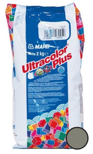Spárovací hmota Mapei Ultracolor Plus cementově šedá 2 kg CG2WA MAPU2113 šedá cementově šedá