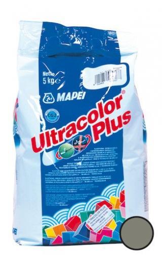 Spárovací hmota Mapei Ultracolor Plus cementově šedá 5 kg CG2WA MAPU113 šedá cementově šedá