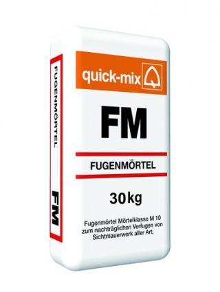 Spárovací hmota Quick-mix FM tmavě šedá 30 kg CG2W QMFMTSE šedá tmavě šedá