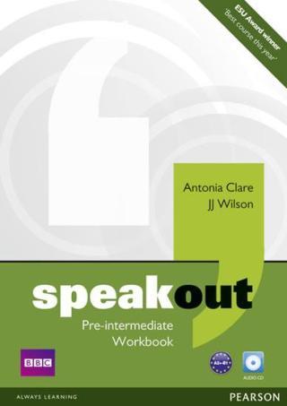 Speakout Pre Intermediate Workbook no Key and Audio CD Pack