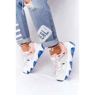 Sport Shoes On A Chunky Sole GOE HH2N4034 White-Pink dámské Neurčeno 38