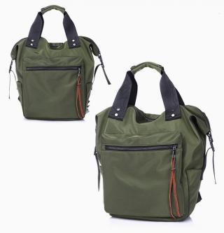 Sportovně elegantní batoh 2v1 - 6 barev Barva: zelená