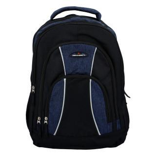 Sportovní batoh černo modrý - Enrico Benetti Schenzyn pánské