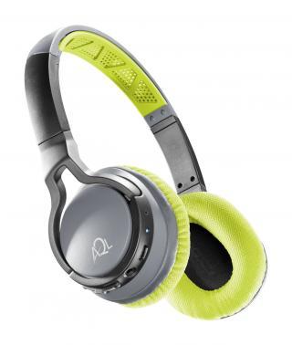 Sportovní bezdrátová sluchátka Cellularline CHALLENGE, AQL® certifikace, žlutá