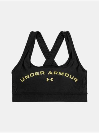 Sportovní podprsenka Under Armour Armour Mid Crossback Gr Bra dámské černá L
