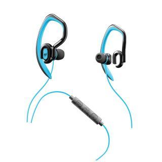 Sportovní sluchátka CELLULARLINE SPORT JUMP 3,5 mm jack azure