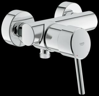 Sprchová baterie Grohe Concetto New bez sprchového setu 150 mm chrom 32210001 chrom chrom