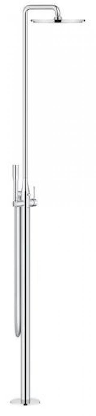 Sprchová baterie Grohe Essence New se sprchovým setem chrom G23741001 chrom chrom