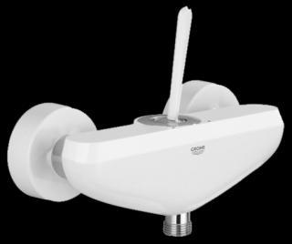 Sprchová baterie Grohe Eurodisc Joy bez sprchového setu 150 mm Moon White / chrom 23430LS0 bílá Moon White