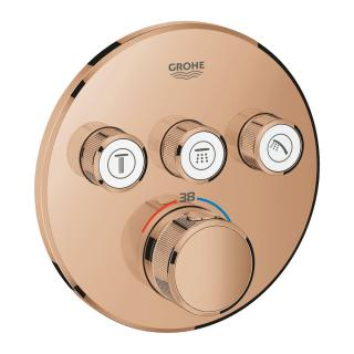 Sprchová baterie Grohe Grohtherm Smartcontrol bez podomítkového tělesa Warm Sunset 29121DA0 ostatní Warm Sunset