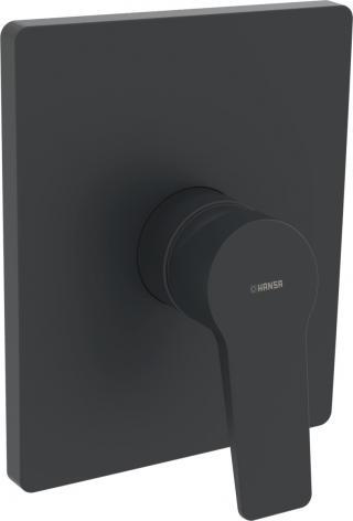 Sprchová baterie HANSA TWIST bez podomítkového tělesa černá 8985908333 černá černá