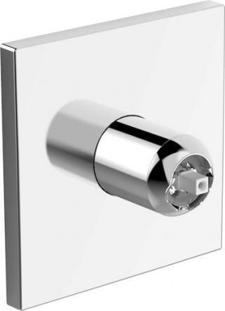 Sprchová baterie Hansa Varox Pro bez podomítkového tělesa chrom 40549173 chrom chrom