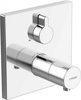 Sprchová baterie Hansa Varox Pro bez podomítkového tělesa chrom 40579073 chrom chrom