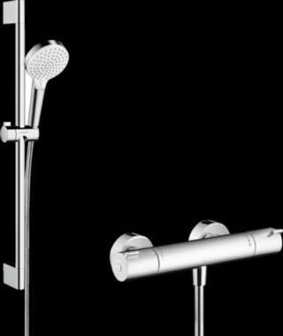 Sprchová baterie Hansgrohe Crometta se sprchovým setem bílá/chrom 27812400 chrom bílá