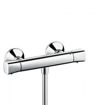 Sprchová baterie Hansgrohe Ecostat bez sprchového setu 150 mm chrom 13122000 chrom chrom