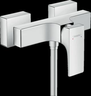 Sprchová baterie Hansgrohe Metropol bez sprchového setu 150 mm chrom 32560000 chrom chrom