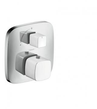 Sprchová baterie Hansgrohe Puravida bez podomítkového tělesa bílá/chrom 15775400 ostatní bílá