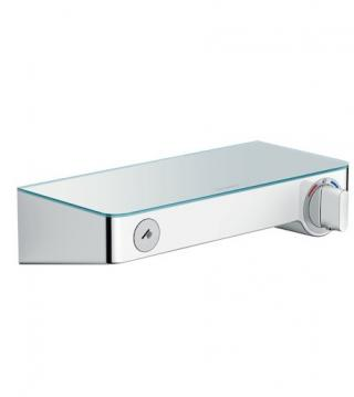 Sprchová baterie Hansgrohe ShowerTablet Select s poličkou 150 mm bílá/chrom 13171400 ostatní bílá