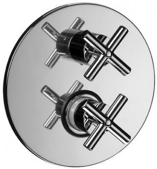 Sprchová baterie Paffoni Cruz včetně podomítkového tělesa chrom QTV013 chrom chrom