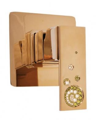 Sprchová baterie RAV SLEZÁK včetně podomítkového tělesa zlatá ROYAL1083Z ostatní zlatá