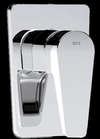 Sprchová baterie Roca Esmai včetně podomítkového tělesa chrom A5A2231C00 chrom chrom