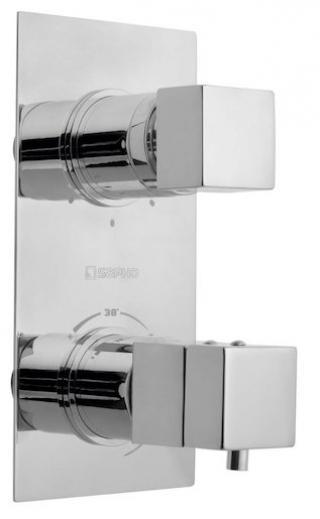 Sprchová baterie Sapho LATUS včetně podomítkového tělesa chrom 1102-92 chrom chrom