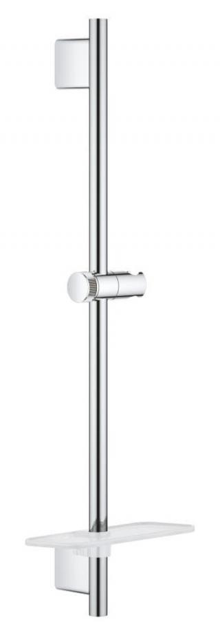 Sprchová tyč Grohe Vitalio SmartActive na stěnu s poličkou chrom 26599000 chrom chrom