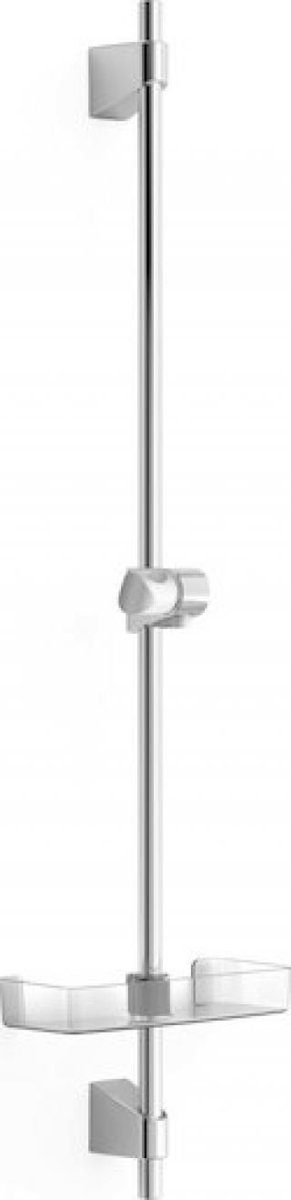 Sprchová tyč Hansa BASICJET s mýdlenkou chrom 44700300 chrom chrom
