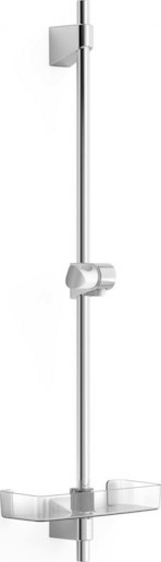 Sprchová tyč Hansa BASICJET s mýdlenkou chrom 44710300 chrom chrom
