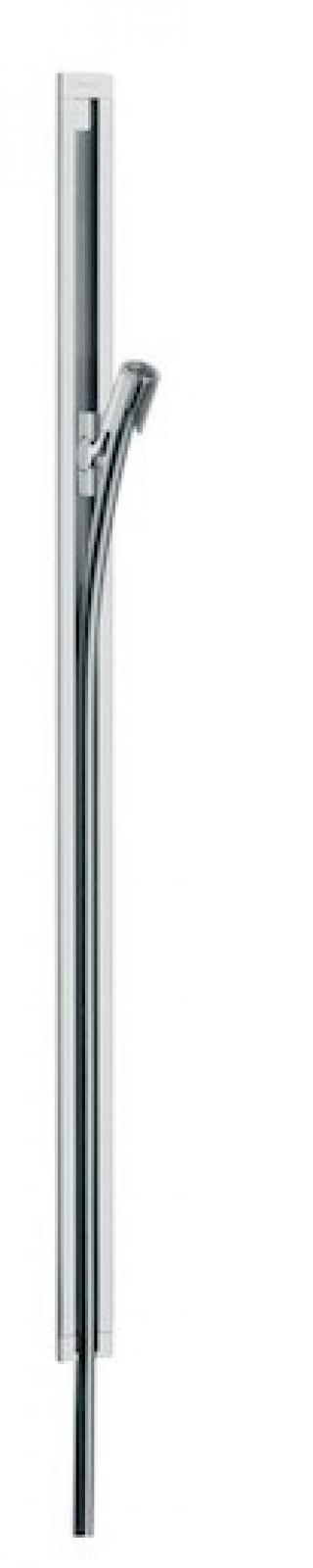 Sprchová tyč Hansgrohe Puravida se sprchovou hadicí chrom 27844000 chrom chrom