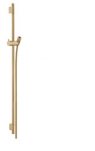 Sprchová tyč Hansgrohe Unica kartáčovaný bronz 28631140 ostatní kartáčovaný bronz
