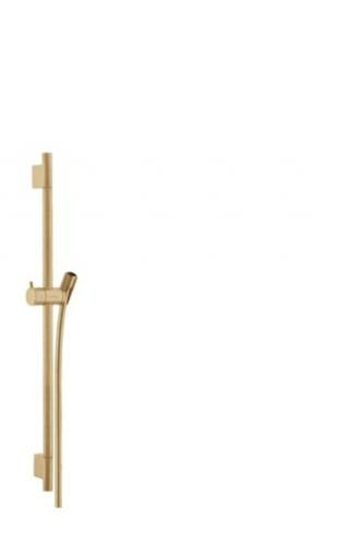 Sprchová tyč Hansgrohe Unica kartáčovaný bronz 28632140 ostatní kartáčovaný bronz