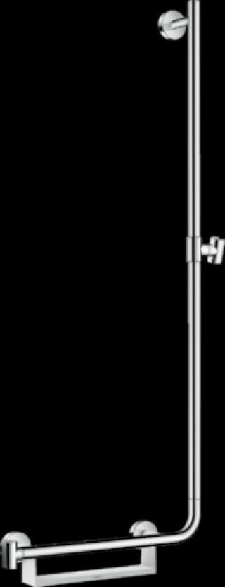 Sprchová tyč Hansgrohe Unica s mýdlenkou bílá/chrom 26404400 ostatní bílá