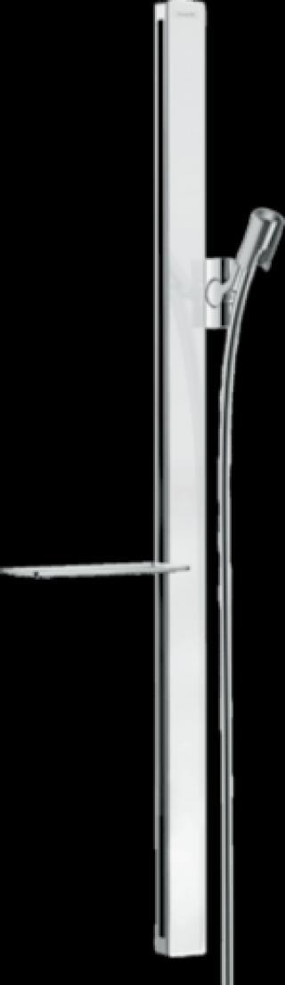 Sprchová tyč Hansgrohe Unica se sprchovou hadicí bílá/chrom 27640400 ostatní bílá