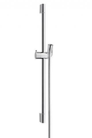 Sprchová tyč Hansgrohe Unica se sprchovou hadicí chrom 27611000 chrom chrom