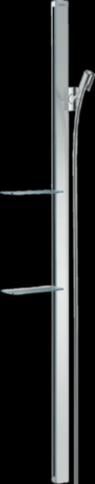 Sprchová tyč Hansgrohe Unica se sprchovou hadicí chrom 27645000 chrom chrom