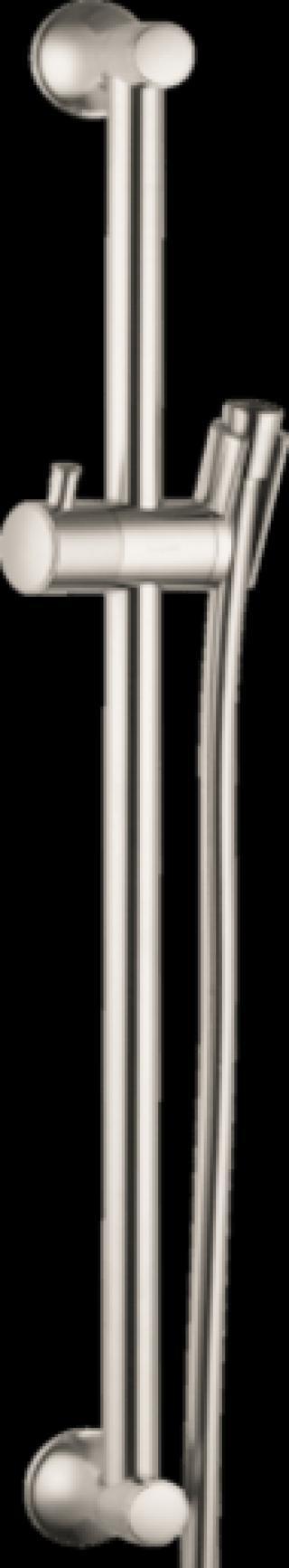 Sprchová tyč Hansgrohe Unica se sprchovou hadicí kartáčovaný nikl 27617820 ostatní kartáčovaný nikl