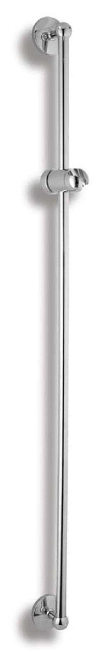 Sprchová tyč Novaservis Metalia 1 na stěnu s držákem sprchy chrom 6119,0 chrom chrom