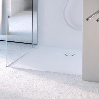 Sprchová vanička čtvercová Geberit 90x90 cm akrylát alpská bílá 154.270.11.1 bílá alpská bílá