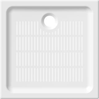 Sprchová vanička čtvercová Jika 80x80 cm keramika 8.5272.1.000.000.3 bílá