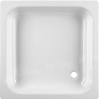 Sprchová vanička čtvercová Jika Sofia 90x90 cm smaltovaná ocel H2140900000001 bílá