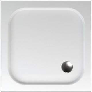 Sprchová vanička čtvercová Teiko Bianca 80x80 cm akrylát V134080N32T05001 bílá bílá