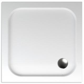 Sprchová vanička čtvercová Teiko Eris 90x90 cm akrylát V134090N32T04001 bílá bílá